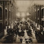 Photo of Bates Hall in Use at 55 Boylston Street