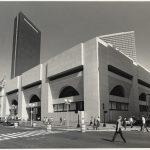Boston Public Library Johnson Building in 1988