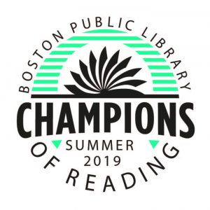 Boston Public Library - Champions of Reading, Summer 2019