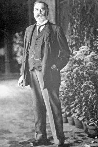 Artist John Singer Sargent (1856-1925).