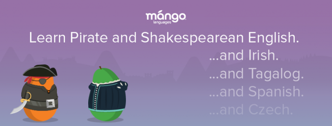 Click the image above to explore the many specialty courses on offer with Mango Languages