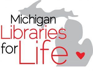 MI Libraries for Life logo