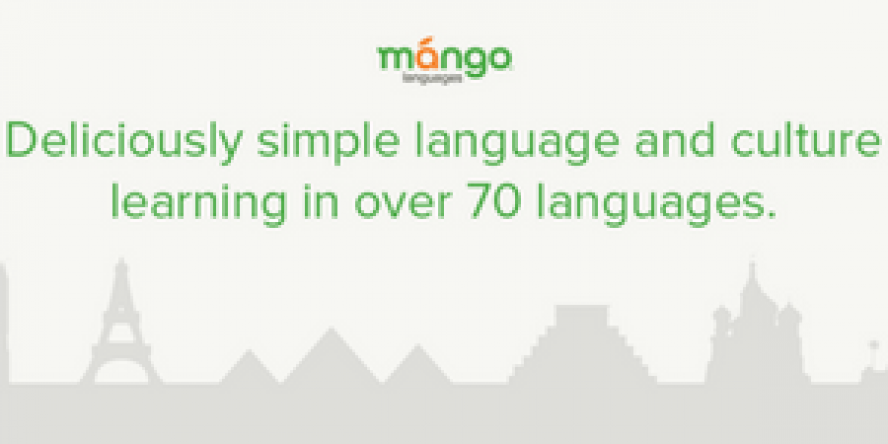 Learn over 70 languages using Mango Languages Online