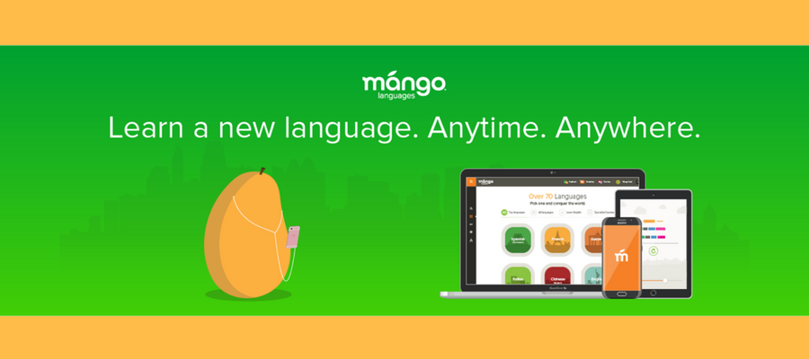 Learn a new language with Mango Languages Online.