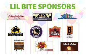 Lil Bit Sponsors for Books, Bites, and Bids Fundraiser