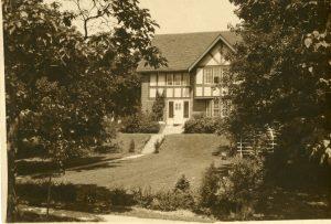 Ryder House in East Lansing, MI, taken between 1920-1925