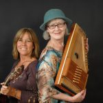 Wanda Degen & Kay Rinker-O'Neil are The Catbird Seat, a folk music duo
