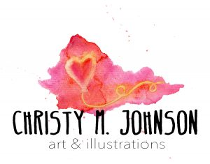 Christy M. Johnson, July 2018 artist in the Brick Wall Gallery