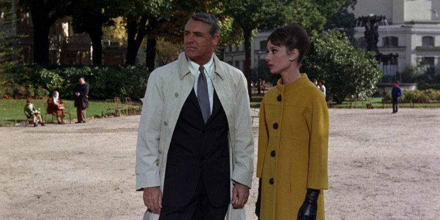 Audrey Hepburn and Cary Grant in Charade, 1963