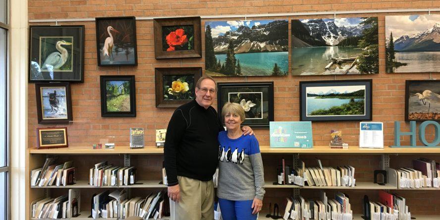 November and December 2018 Brick Wall Gallery artists Maryann and Darold Boyd.