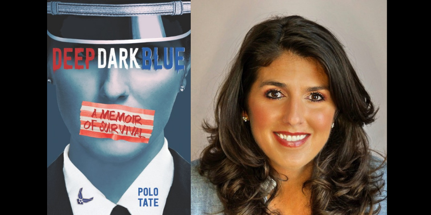 Author Polo Tate and her debut memoir, Deep Dark Blue