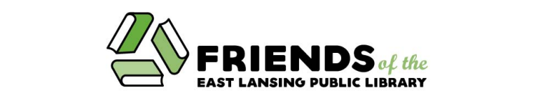 Friends of the East Lansing Public Library logo