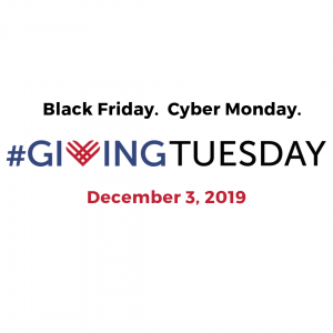 Black Friday. Cyber Monday. GivingTuesday is December 3 2019
