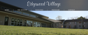 Exterior shot of Edgewood Village housing