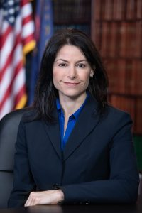 Official portrait photograph of Michigan Attorney General Dana Nessel
