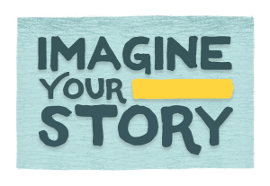 Imagine Your Story Summer Reading logo