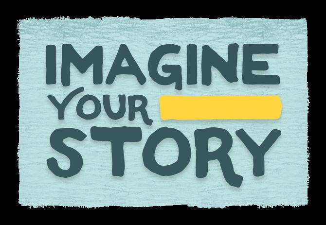 Imagine Your Story Summer Reading logo