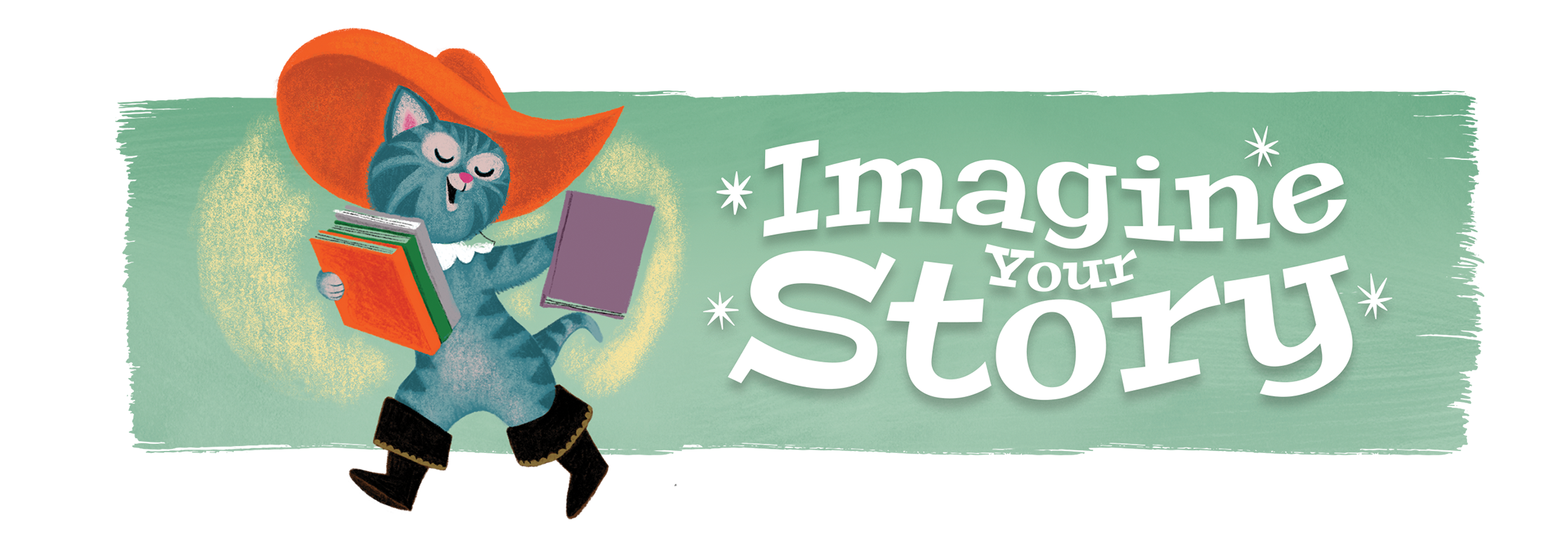 Imagine Your Story Summer Reading banner