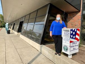 Additional ballot drop box at East Lansing City Hall