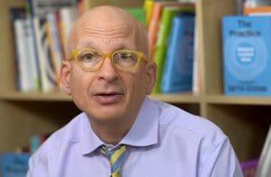 Author Seth Godin teaching Creativity at Work on Linkedn Learning