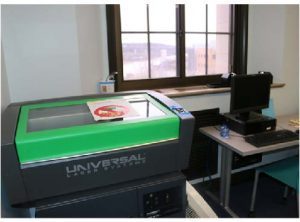 Laser cutter at Innovation Lab