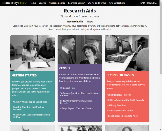 Research Your Family History | Saint Paul Public Library