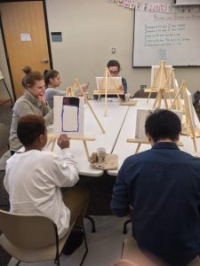 Brave Art workshop for teens
