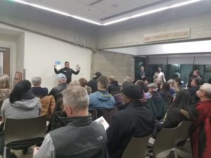 Rethinking Eviction workshop for landlords at Sun Ray Library (February 19, 2019)
