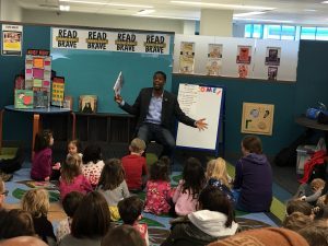 Storytime with Mayor Carter at Highland Park Library (January 26, 2019).
