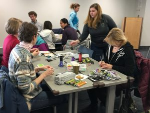 Care Brave volunteer event with HandsOn Twin Cities at Dayton's Bluff Library (January 26, 2019).
