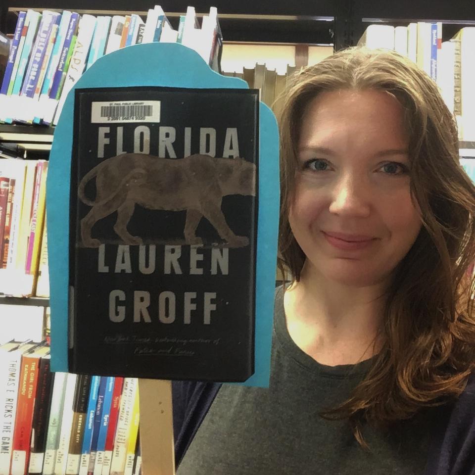 Book reviews…on a stick!   Saint Paul Public Library