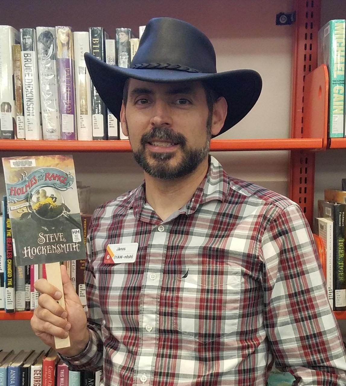 Book reviews…on a stick! | Saint Paul Public Library