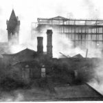 1915 Market House fire  Almost total destruction of the library. Nearly 160,000 volumes were lost.