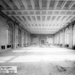 Construction of the Nicholson Room which served as the main reading room when the Central Library opened in 1917.