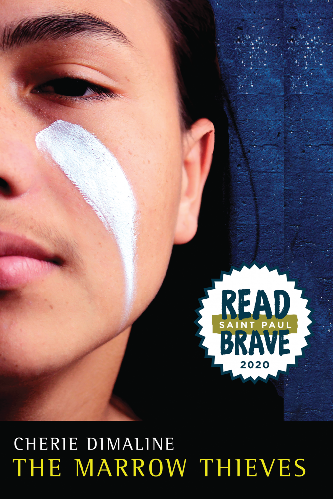 READ BRAVE MARROW THIEVES COVER
