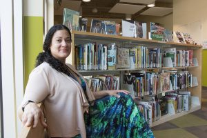 Ruby Rivera, Library Social Worker
