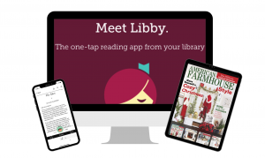 Meet Libby. The one-tap reading app from your library.