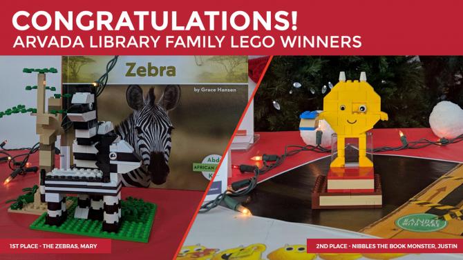 Congratulations LEGO™ Contest Winners | Jefferson County Public Library