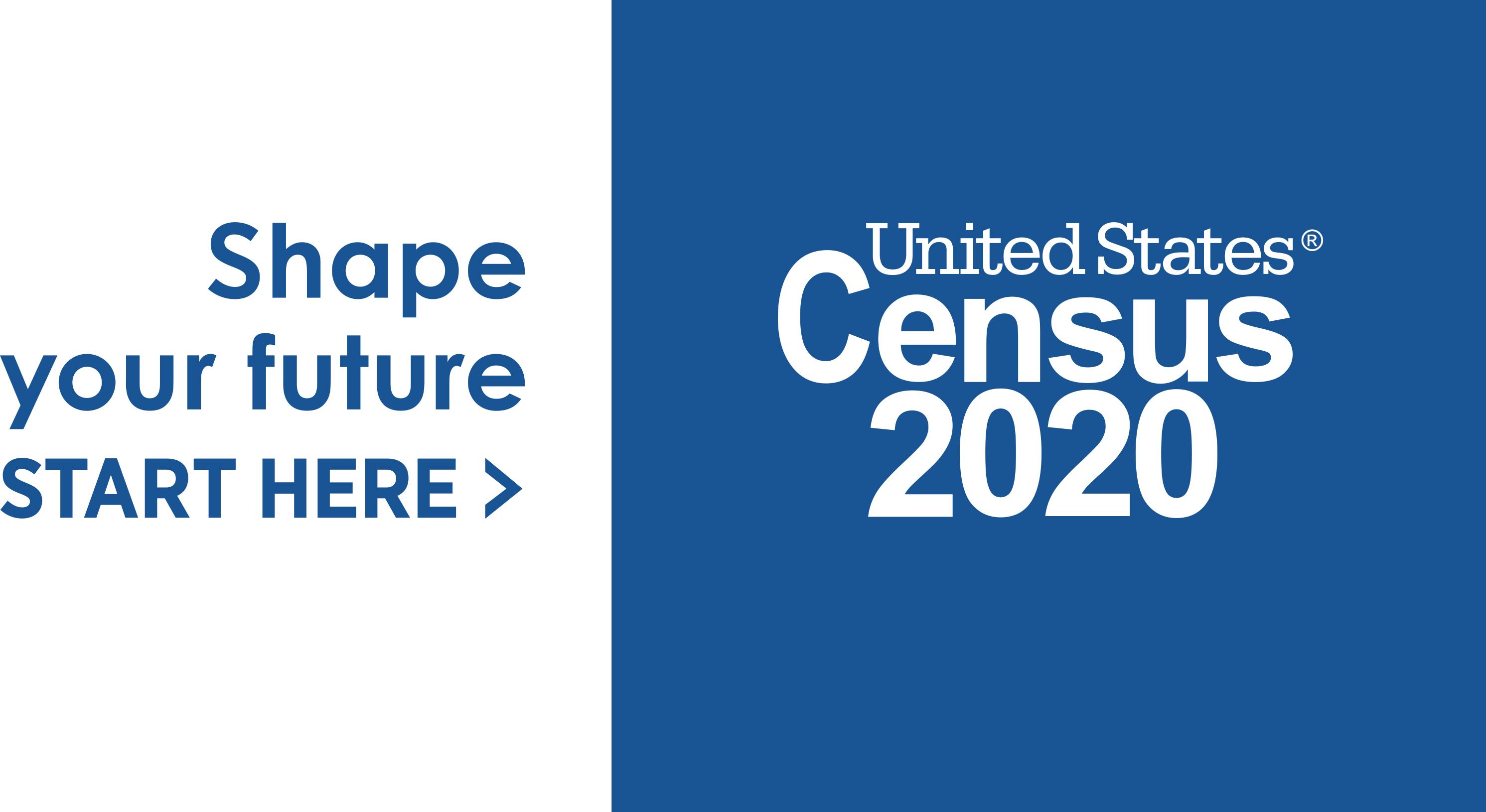 2020 Logo_Census_IN BOX_ Shape Your Future_Blue_Preferred