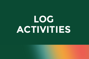 Log your activities until August 31!