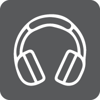 Online Library Icons_Music_Grey
