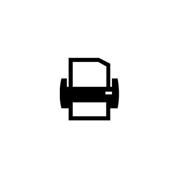 <p>icon, printing, scanning</p>