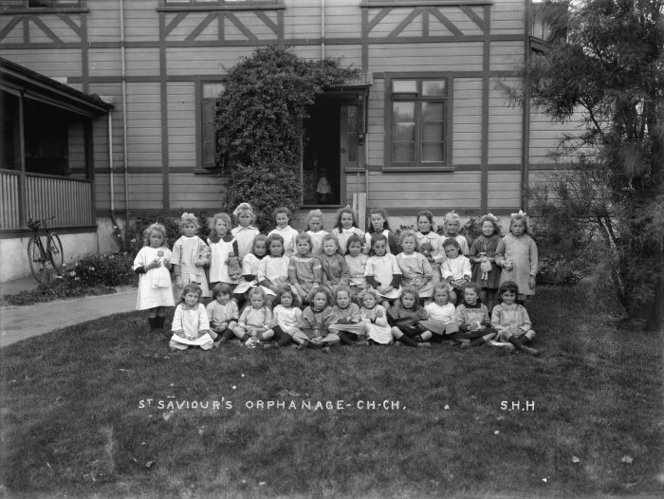 Children at St Saviour's orphanage, 1920