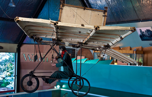Richard Pearse's Aeroplane No. 1 replica, MOTAT,