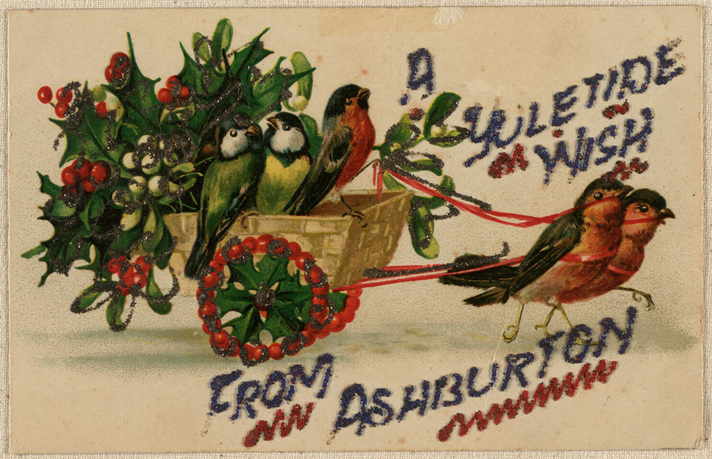 A Yuletide wish from Ashburton, Heney family collection, CCL-Heney-015a