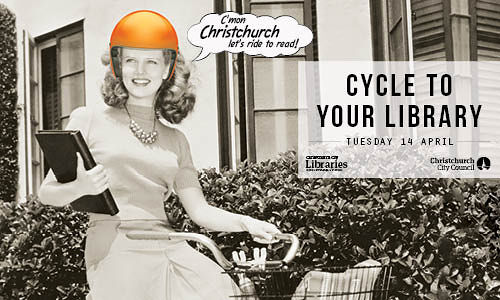 Cycle To Your Library Day And Cycling Librarians Christchurch