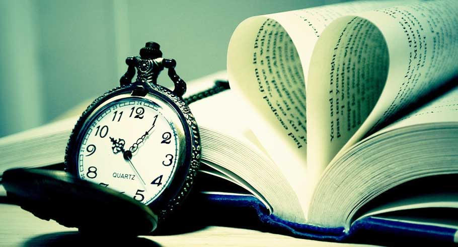 Pocket Watch and book