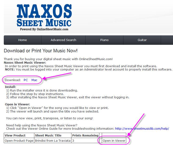 About Naxos Sheet Music Christchurch City Libraries