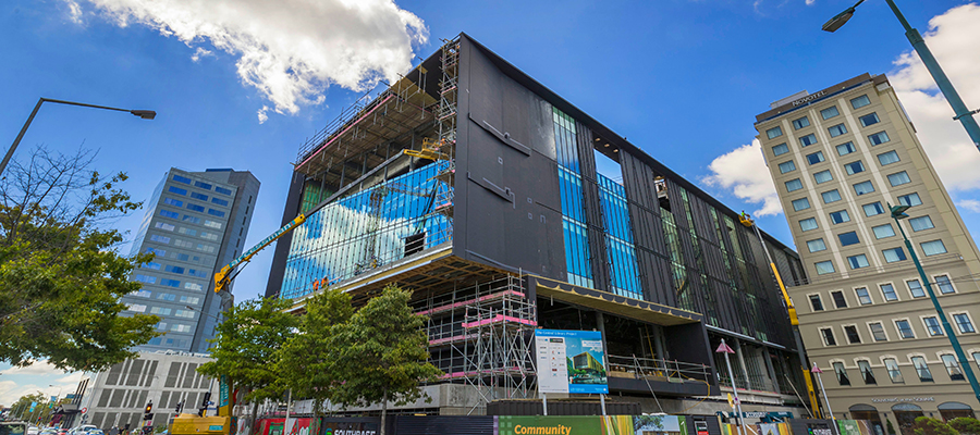 Tūranga (New Central Library), photo by Kirk Hargreaves, Newsline
