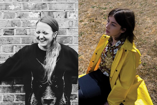 Hollie McNish and Hera Lindsay Bird. Image supplied.